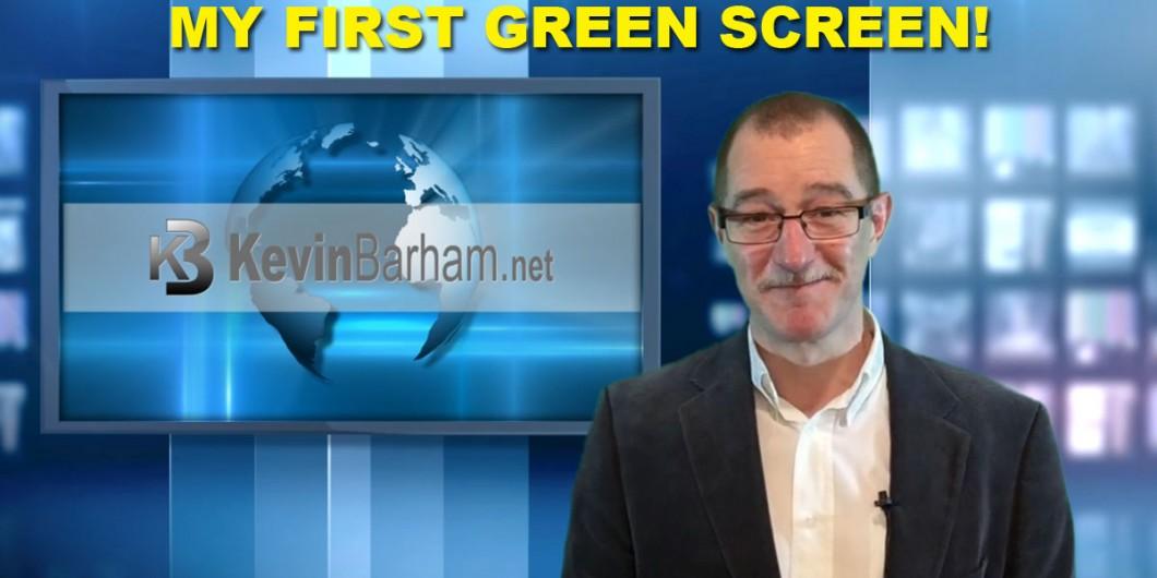 My first Green Screen - Quick Start Challenge