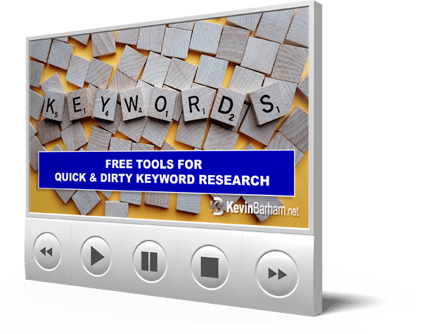 Quick & Dirty Keyword Research